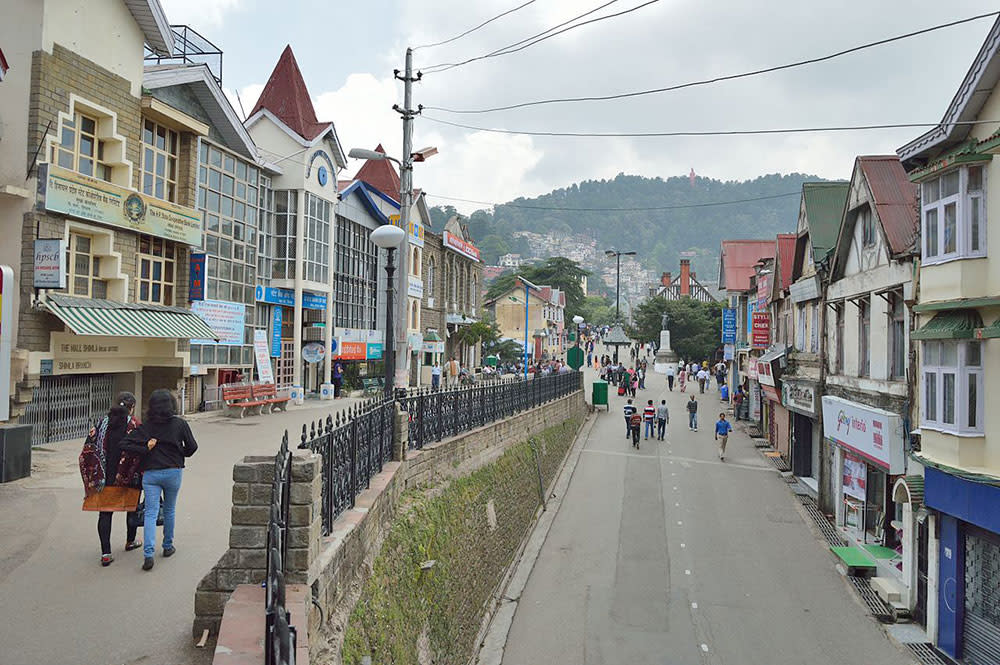 Shimla Mall Road – The Ideal Place For Shopping
